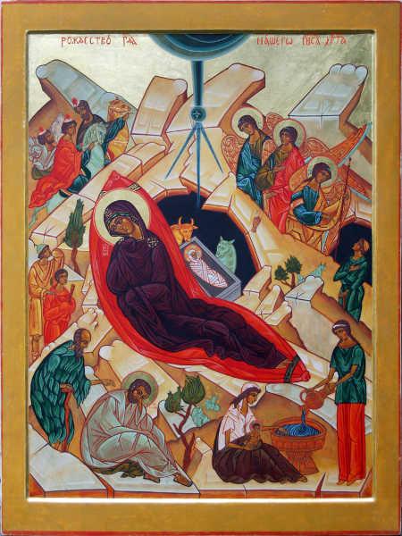 Icône de la Nativité