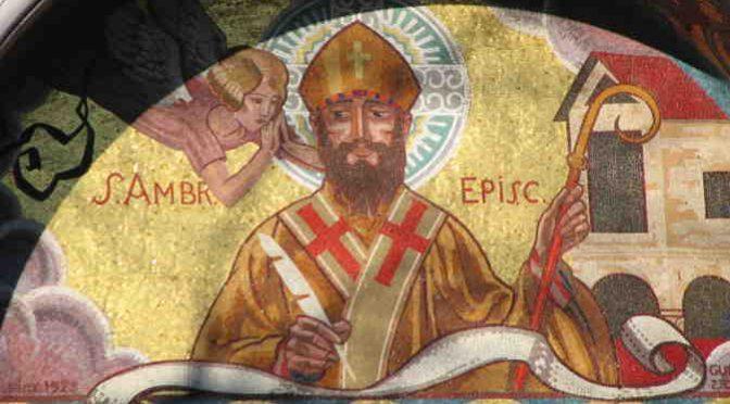 St Ambroise – Extrait du Traité sur l'Evangile de St Luc