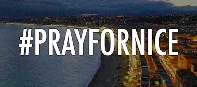 Priez pour Nice – Pray for Nice