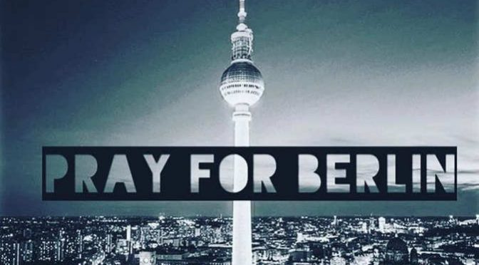 Priez pour Berlin – Pray for Berlin