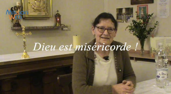 Dieu est miséricorde – Conf. Mme HARTER Marie-Marguerite