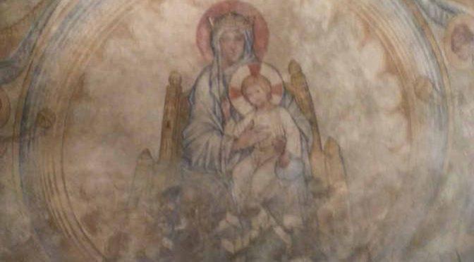 Peinture Chapelle des Templiers Metz